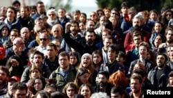 Demonstranti, Turska