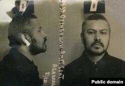 Амет Озенбашлы. Тюремное фото