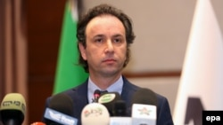 Сирия революциялық және оппозициялық күштері ұлттық кеңесінің басшысы Халед әл-Ходжа.