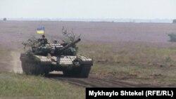 Навчання новосформованого 46-го окремого батальйону спеціального призначення «Донбас-Україна»