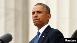АҚШ президенті Барак Обама. Вашингтон, 28 тамыз 2013 жыл