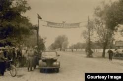 Подготовка к встрече войск Красной армии в Бресте. 22 сентября 1939 г.