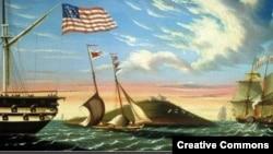 Картина Томаса Чэмберса (1808-1869)