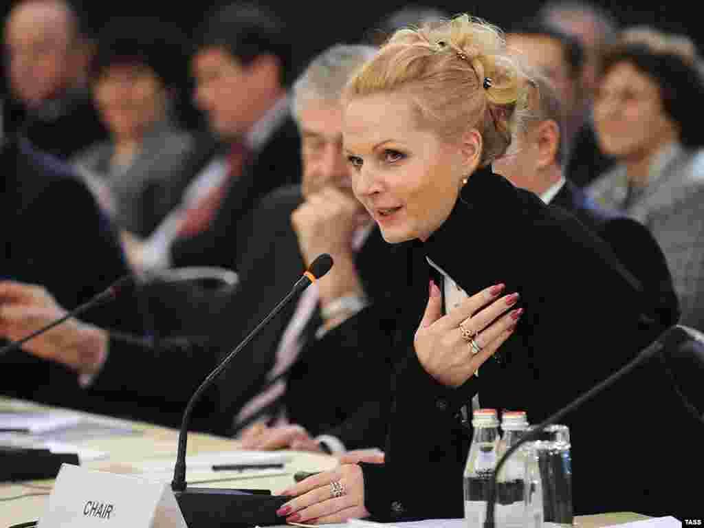 Татьяна Голикова на конференции министров социального блока государств-членов Совета Европы