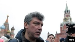 Оппозиционный политик Борис Немцов.