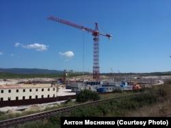 Строительство новой ТЭС в Севастополе, состояние летом 2016 года