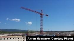 Строительство новой ТЭС в Севастополе по состоянию на лето 2016 года. Архивное фото
