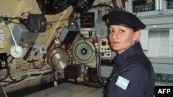 """Эвелина Кравчык – офицер на подводной лодке """"Сан Хуан"""""""
