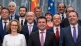 Премиерот Зоран Заев и членови на владата.