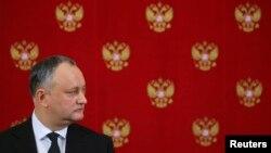 Igor Dodon la Moscova, 17 ianuarie 2017