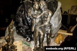Праект помніка Машэку скульптара Андрэя Вераб'ёва