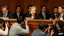 Hillari Klinton në sematin amerikan
