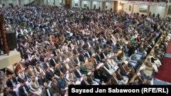 Делегаты традиционного собрания старейшин афганских племен - Лойя-джирги.