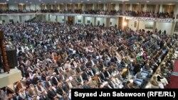 افغانستان: د لویې جرګې استازو په څلور ورځنۍ ناسته کې خپل سپارښتونه د افغانستان ملي پارلمان ته وړاندې کړل.