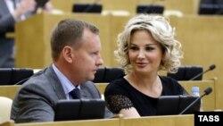 Денис Вороненков и Мария Максакова (архивное фото)