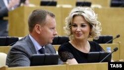 Денис Вороненков и Мария Максакова (архивное фото).