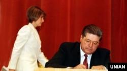 Павло Лазаренко і Юлія Тимошенко