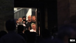Dhuna në Kuvendin e Maqedonisë, 27 prill