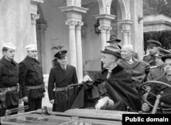Ялтинская конференция в Ливадии. Крым. Февраль 1945.