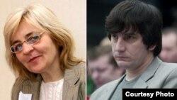 Журналісти Тетяна Мельничук і Сергій Сацюк