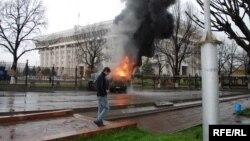 Ак үй, Бишкек, 7-апрель, 2010-жыл.