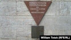 Placă memorială în amintirea homosexualilor persecutați de naziști, Berlin