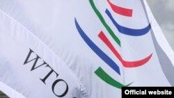 Флаг ВТО.