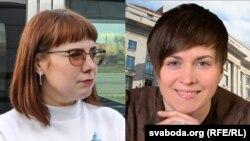 Вольга Кавалькова і Тацяна Караткевіч