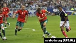 Францыя —Беларусь, 3 верасьня 2010