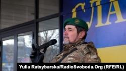 Боєць-доброволець Олександр Писаревський