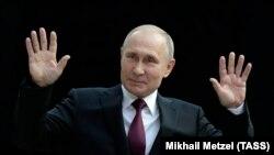 Путин 20 июнда саволларга жавоб берди.