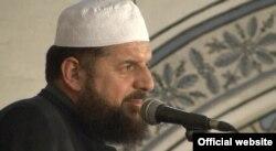 Шефкет Красниги, имам мечети «Султан Мехмет», который был обвинен в экстремизме.