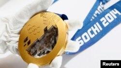 Золотая медаль Олимпиады в Сочи