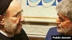 علی مطهری و محمد خاتمی (عکس از آرشیو)
