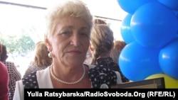 Людмила Гляненко, вчителька української мови та літератури з 40 річним стажем