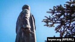 Памятник Ленину в Ялте, архивное фото