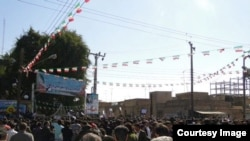 تجمع اعتراضی در دزفول-- عکس شبکه خبری دز