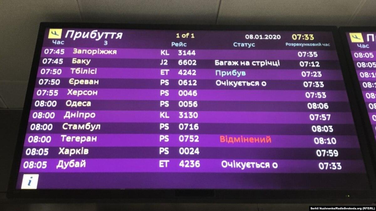 В результате аварии украинского самолета в Иране никто не выжил – «Красный полумесяц»