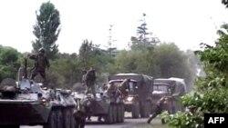 Накануне операции на административной границе Абхазии и Грузии были сосредоточены крупные силы российской армии