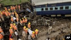 Аварія на індійській залізниці влітку минулого року