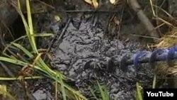 На месте аварии нефтепровода в Мошковском районе