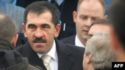Yunus-Bek Yevkurov arrives in Magas.