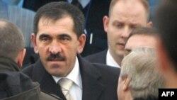 Yunus-Bek Yevkurov arrives in Magas.