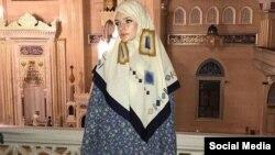 Елизавета Пескова в Чечне, архивное фото