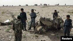 Маиванд ауданында жүрген ауған полицейлері (Көрнекі сурет)
