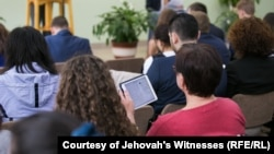 "Jehovah's Witnesses have been labeled as ""extremist"" in Russia and the Supreme Court has banned the denomination. (file photo)"
