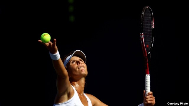 Varvara Lepchenko is currently ranked at a career-high 44th in the world. (Getty Images/WTA Tour)