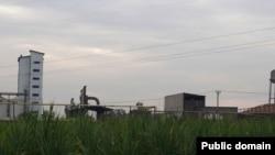 کارخانه نیشکر هفتتپه در نزدیکی شوش