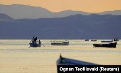 Liqeni i Ohrit.