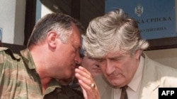 With Radovan Karadzic (right) arrested, is his wartime commander Ratko Mladic (left) next in line?